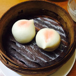 中国料理 食楽 - 桃饅頭(2個)¥300