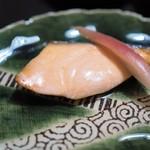 日本橋 皆美 - 鮭の西京焼き