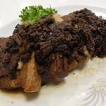 台湾客家料理 新竹 - 台湾高菜と豚バラ醤油煮