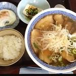 中華料理 美香蘭 - チャーシュー麺小ライス