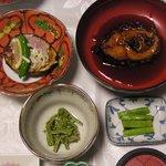 4194520 - 甘辛い鯉の煮物ほか