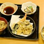 水車 - 秋の天ぷら御膳
