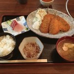 一心丸 - アジフライ定食