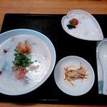 ピロチュン - 美肌香港粥セットの鶏がゆ