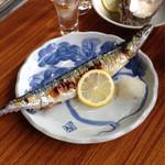 味雅 - 秋刀魚塩焼き