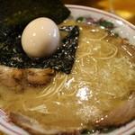 水田商店 - 白ちゃーしゅーめん味玉