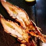 芦屋炭火キッチン MACHIYA - 赤海老丸ごと一本串