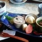 窯元カフェ はづき - はずきセット780円