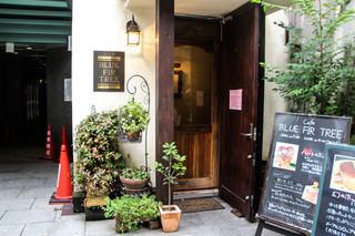 ブルー ファー ツリー - お店の入り口!!\(^o^)/