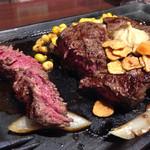 いきなり!ステーキ 六本木店 - ヒレステーキ なのに肉汁感ハンパないです☆