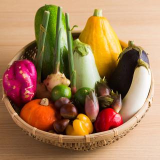 故郷朝倉の旬野菜をいつもお褒めいただきありがとうございます