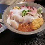 41954820 - 雅 セットの海鮮ミニ丼