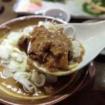 串蔵 - 201509 牛スジ肉たっぷりで熱々の豆腐入り