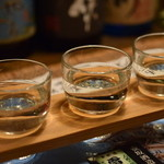 居酒屋 遊膳 - 「播州地酒」姫路城名所飲み比べ 大手門セット