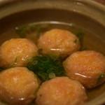 居酒屋 遊膳 - 明石焼き風タコ玉