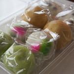 ㈲佐藤菓子店 - 4種の饅頭詰め合わせ(^^♪
