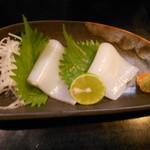 飛騨 - 料理写真:松イカ造り