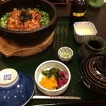 うな繁 - 石焼鰻丼¥2900+肝吸いに変更¥100