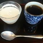 日本料理 戸たに - 和三盆のプリン