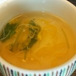 日本料理 戸たに - 菊花あん掛けの茶碗蒸し