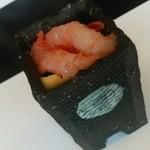 日本料理 戸たに - 料理写真:甘海老と長芋の紅葉和え