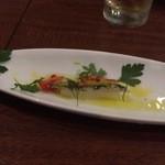 41966096 - いわしのマリネと長芋のピクルス