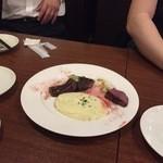 41966121 - 牛ハラミのステーキ