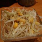 ひまわり寿司 新都心店 - 丼についてたサラダ