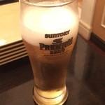 Steak&Wine Vabene - 生ビール390円は安いです。
