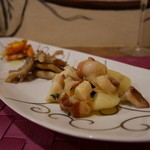 Hostaria Casa Bella - 前菜(タコとジャガイモ)