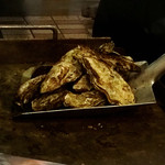ザ オイスター マンズ - 蒸牡蠣スコップ盛り!2500円