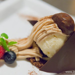 THE TENDER HOUSE DINING - ヴァニラアイスの詰まったモンブラン【2015年9月】