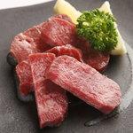 焼肉 山王苑 - 厚切りタン塩【1380円】厚切りなのに信じられない柔らかさです!