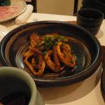 豚菜キッチン 絆 - いかのわた焼き