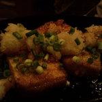 めがね庵 - 豆腐のピリ辛ステーキ