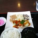 お食事処 明神 - 日替わり定食
