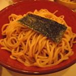 41972983 - 麺は中太麺チョイ緩やかなウェーブが入った麺。加水率は中高級。