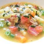 41974592 - タイムコース 2138円 の野菜たっぷりのスープ ビストゥーの香り