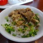 上海 - ミニ肉丼