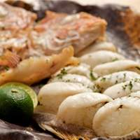 ポジティブアンバランス 歩路庵 - 天然明石鯛 焼寿司