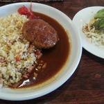 カフェレストラン 瑠奈 - ハンバーグピラフ930円税込