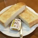 喫茶あじさい - 料理写真:今回は軽食でトーストをいただきましたが、ラーメンも人気だそうです。