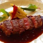 ブラドゥメール - オリーブ牛のステーキ