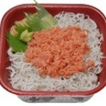 海の幸 丼丸 - 鮭シラス丼