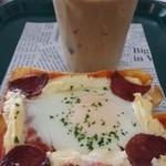 プロント - ハワイコナブレンドアイスラテ&朝ごはんトマトソース