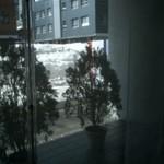 フレンチレストラン カザマ - 店内からは、「雪の丘」が見えます。