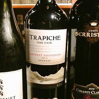 リーズナブルな美味ワインが豊富!2200円~