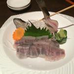 41991735 - 岩魚の刺身一本造
