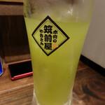 筑前屋 - 緑茶ハイ(450円)