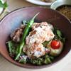 【肉】葱ポン酢で食べる竜田揚げ